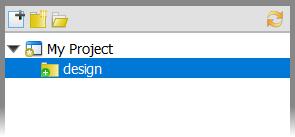 New folder created