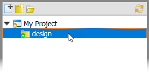 Selected a folder