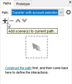 Add scene to current path