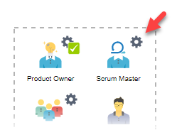 To configure scrum master