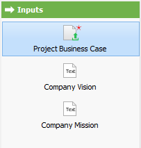 Opening input 'Project Business Case'